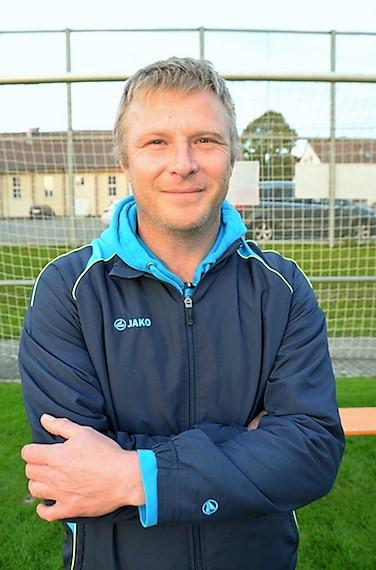 Trainer D3-Junioren Norbert Niethammer
